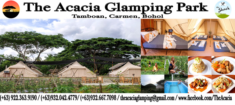 THE ACACIA GLAMPING BOHOL